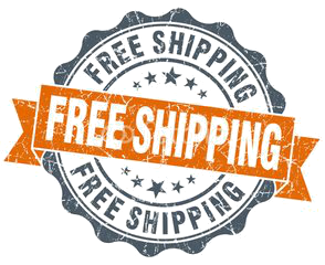 Free shipping on all our items!