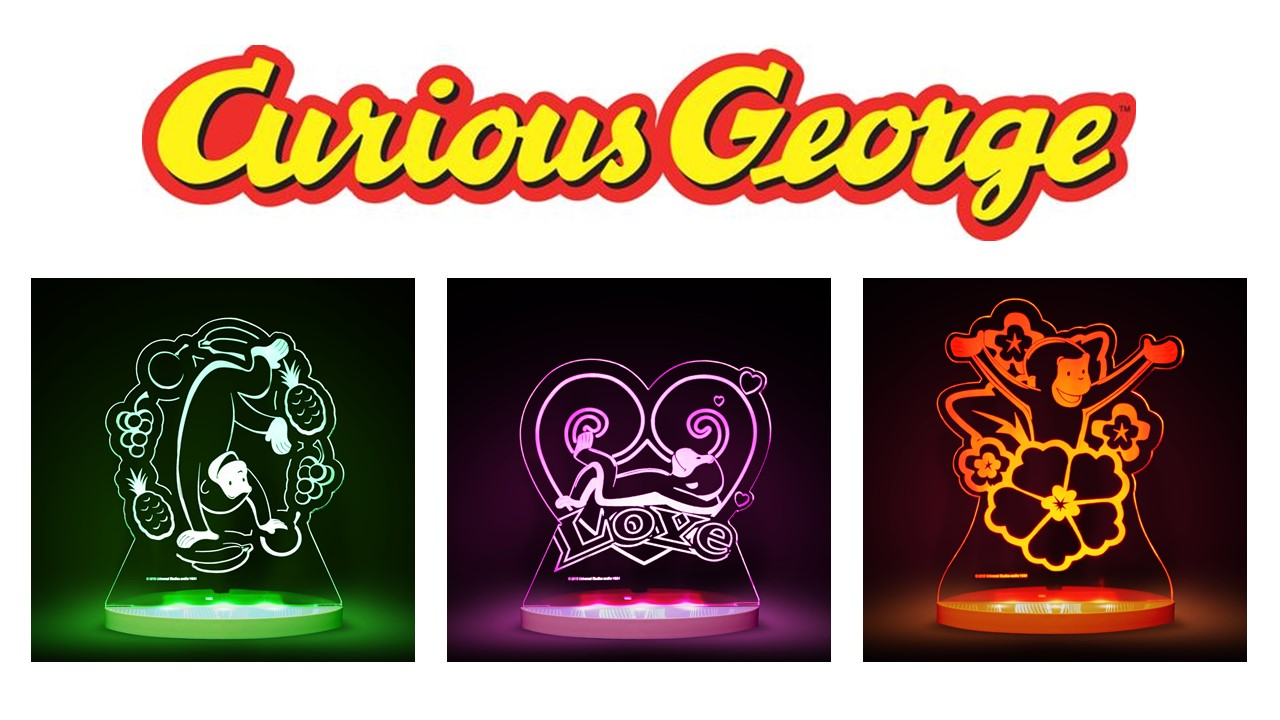 Curious George NightLights
