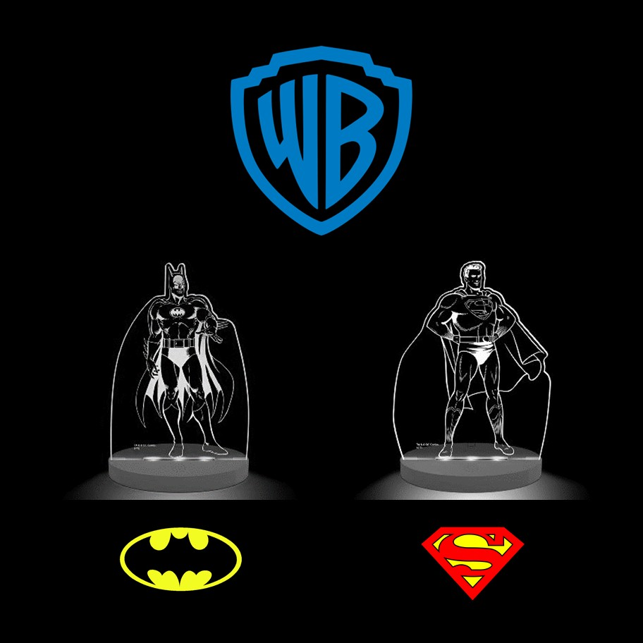 Warner Bros. Superhero Night Lights