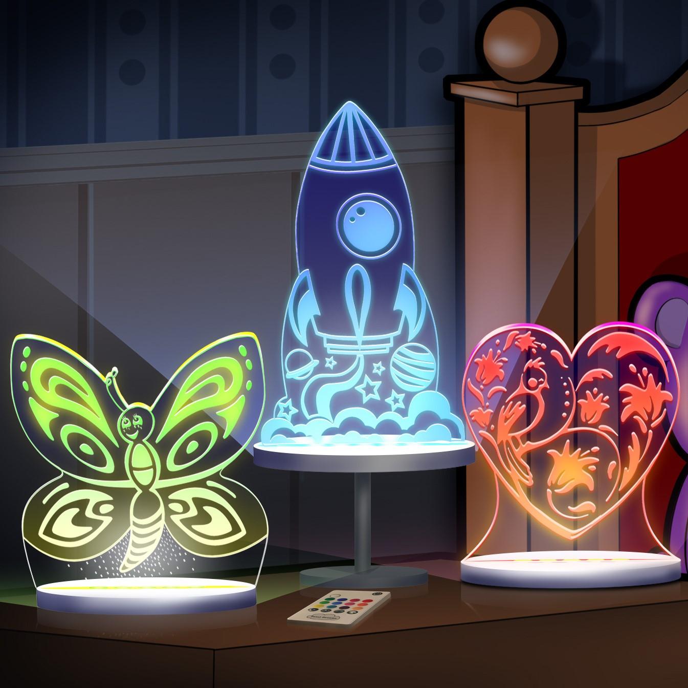 Multicolored LED Night Lights